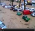 Genova, cars carried away by floodsjj