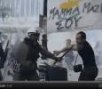 Athens, police brutality in Syntagma Squarejj