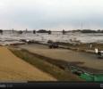 Tsunami, a black wave invades the Japanese countrysidejj
