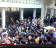 Syria, protests at the University of Aleppojj