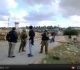 Nabi Saleh, family of Mustafa Tamimi stopped by Israeli armyjj