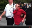 Occupy Wall St: protester arrested, police refuse to say on what chargesjj