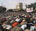 Prayers in Tahrir Square