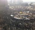 Tahrir Square, aerial view