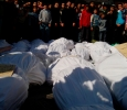 Syria, burial ceremony after Homs bloodbath