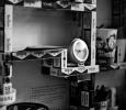 Self-built bookcase, Regina Coeli Prison, Rome, Italy, 2012