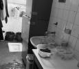 Toilet inside a kitchen, San Vittore Prison, Italy, 2012
