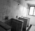 In Latina�s prison, two out of four showers used by over fifty detainees are out of order, Rome, Italy, 2012